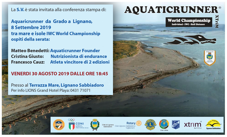 Conferenza stampa a Lignano 30 Agosto 2019